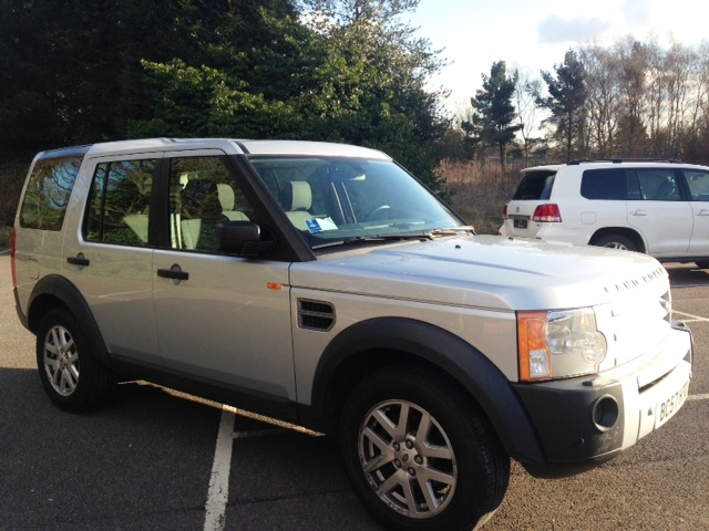 left hand drive car LANDROVER DISCOVERY DISCOVERY 3 2.7 TDV6 XS 4X4 7 SEATS UK REGISTERED