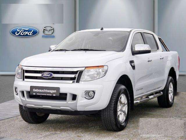 left hand drive car FORD RANGER 2.2 TDCI LIMITED AUTO