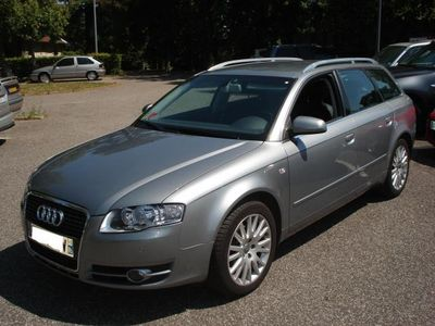 left hand drive car AUDI A4 AVANT 2.0 TDI AMBIANCE LUXE FRENCH