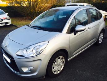 left hand drive car CITROEN C3 1.4 HDI 70 BUSINESS FRENCH PLATES