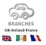 My Lhd Branches in the UK and France