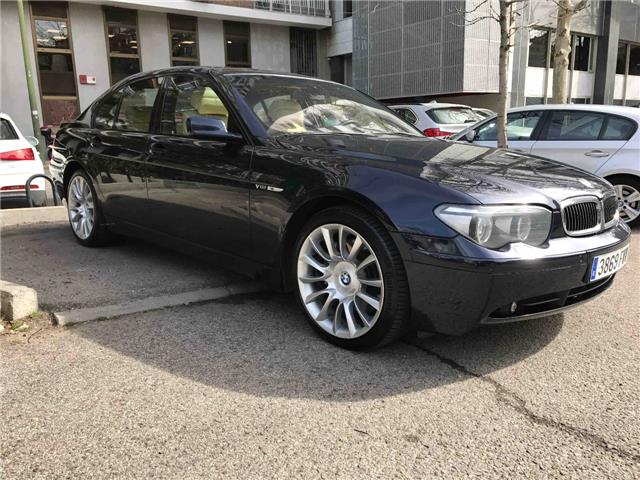 BMW 7 SERIES 760 I Spanish Reg