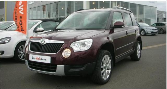 SKODA YETI 2.0 TDI 140 CR 4X4 ELEGANCE DSG
