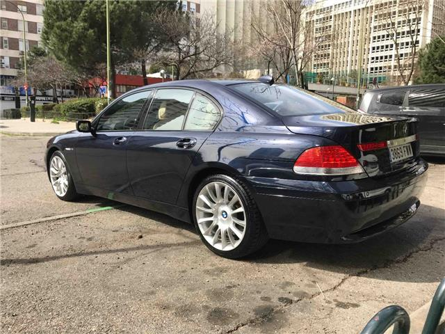 Left hand drive BMW 7 SERIES 760 I Spanish Reg