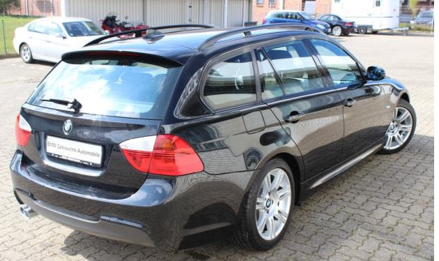 BMW 3 SERIES (12/2007) - BLACK METALLIC - lieu:
