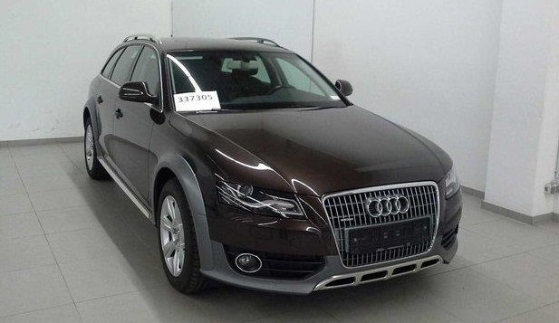 lhd AUDI A4 ALLROAD (02/2012) - BROWN METALLIC - lieu: