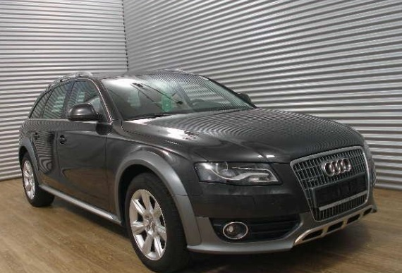 AUDI A4 ALLROAD (04/2011) - GREY METALLIC - lieu: