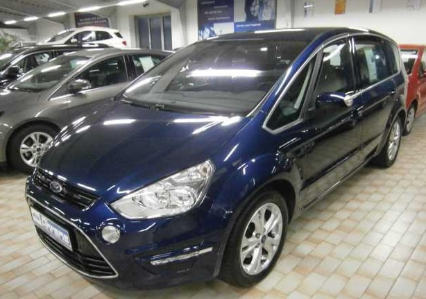 FORD S MAX (09/2011) - BLUE METALLIC - lieu: