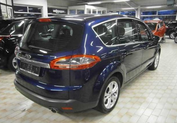 Lhd FORD S MAX (09/2011) - BLUE METALLIC - lieu: