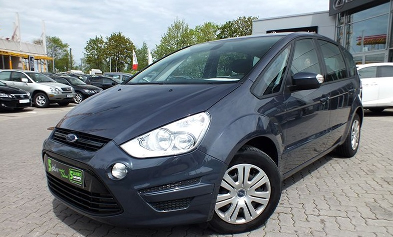 lhd FORD S MAX (06/2013) - GREY METALLIC - lieu: