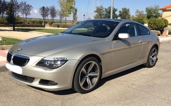 BMW 6 SERIES 635D COUPE