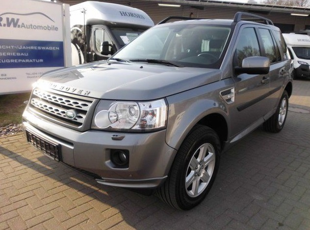 Lhd LANDROVER FREELANDER (11/2012) - GREY METALLIC - lieu: