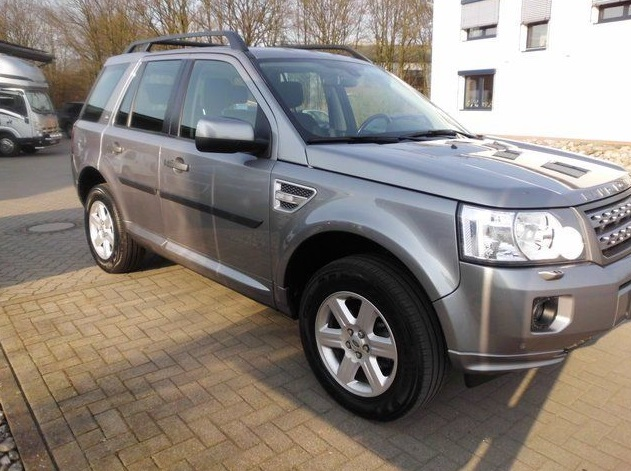 LANDROVER FREELANDER (11/2012) - GREY METALLIC - lieu: