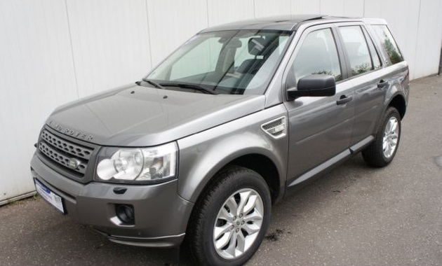 lhd LANDROVER FREELANDER (04/2011) - GREY METALLIC - lieu: