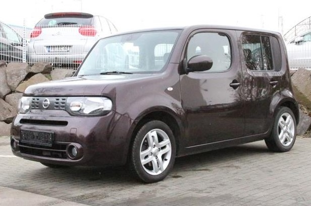lhd NISSAN CUBE (02/2010) - BROWN METALLIC - lieu: