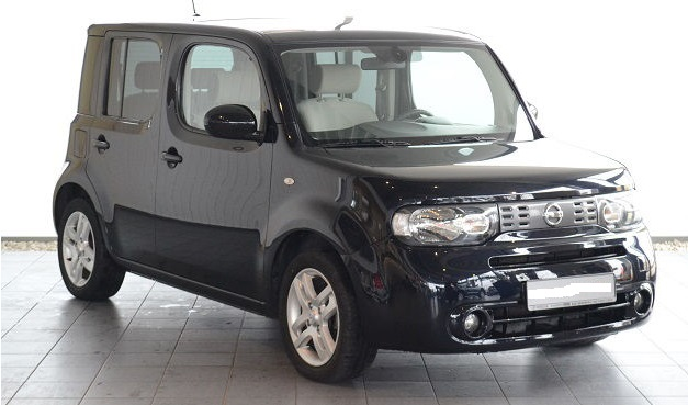 lhd NISSAN CUBE (12/2010) - BLUE BLACK METALLIC - lieu: