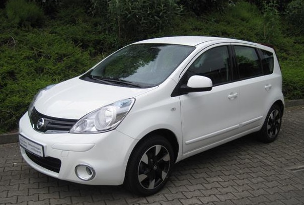 Left hand drive NISSAN NOTE 1.5 DCI I-WAY