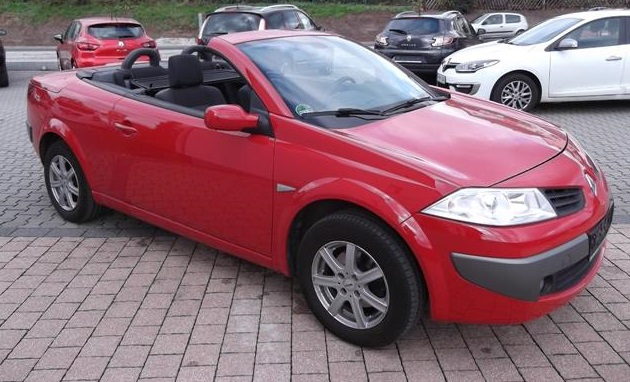 RENAULT MEGANE CC 1.6 CC AUTHENTIQUE