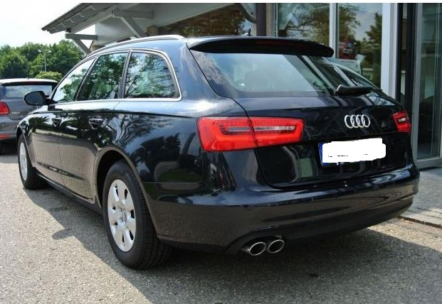 AUDI A6 (08/2013) - BLUE METALLIC - lieu: