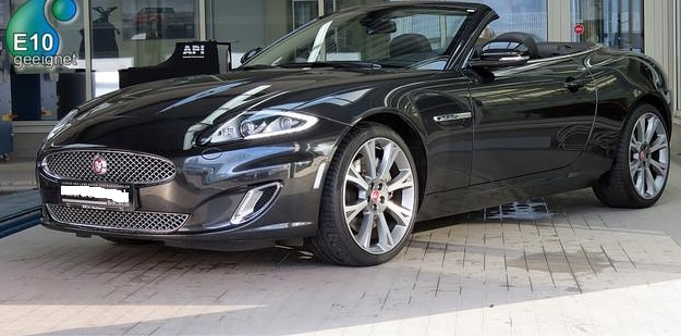 lhd JAGUAR XK (04/2014) - GREY METALLIC - lieu: