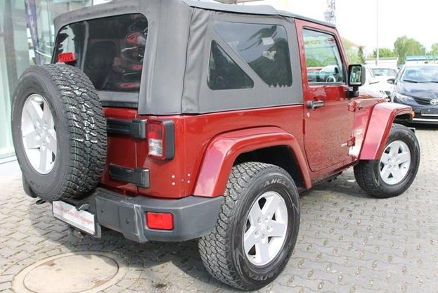 JEEP WRANGLER (10/2007) - RED METALLIC - lieu: