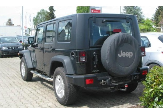JEEP WRANGLER (10/2010) - GREEN METALLIC - lieu: