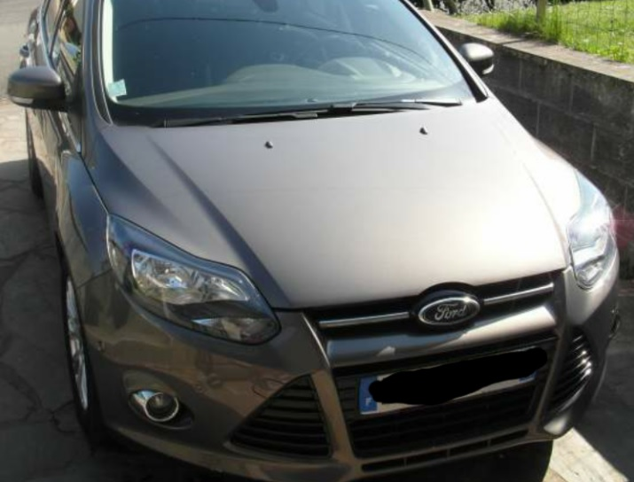 FORD FOCUS 1.6 TDCI TITANIUM FRENCH REG