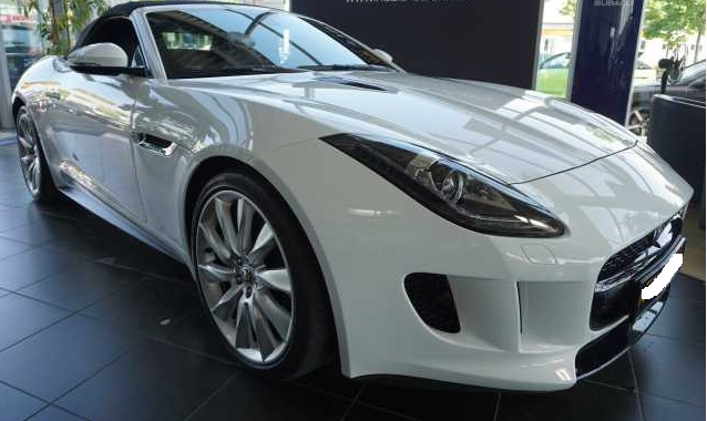 lhd JAGUAR F TYPE (01/2014) - WHITE - lieu: