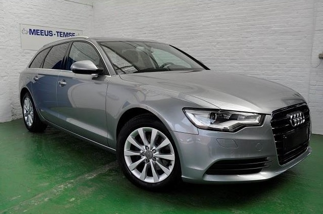 lhd AUDI A6 (02/2014) - GREY METALLIC - lieu: