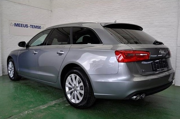 AUDI A6 (02/2014) - GREY METALLIC - lieu: