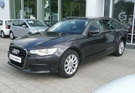 lhd AUDI A6 (02/2014) - DARK GREY METALLIC - lieu: