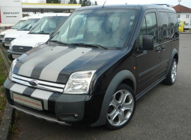 lhd FORD TOURNEO (03/2009) - BLACK - lieu: