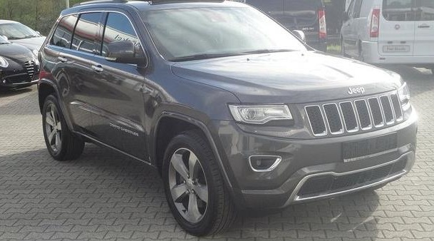 Lhd JEEP CHEROKEE (07/2014) - GREY METALLIC - lieu: