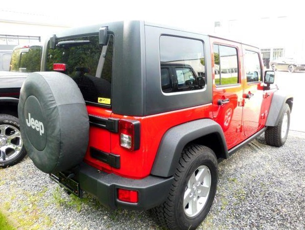 JEEP WRANGLER (06/2008) - RED - lieu: