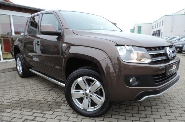 VOLKSWAGEN AMAROK (09/2012) - BROWN METALLIC - lieu: