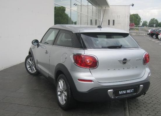 MINI PACEMAN (07/2014) - SILVER METALLIC - lieu: