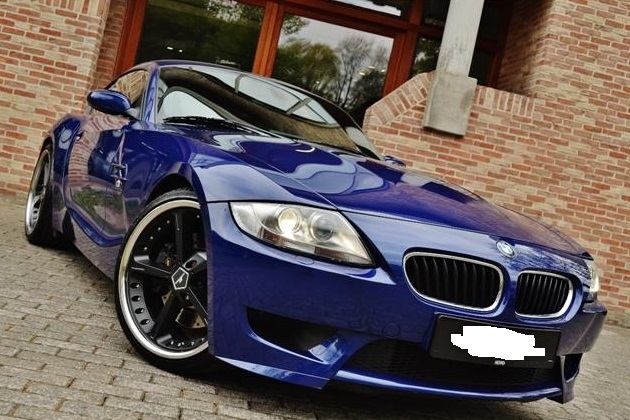 lhd BMW Z4 (08/2006) - BLUE METALLIC - lieu: