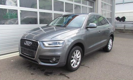 lhd AUDI Q3 (03/2012) - GREY METALLIC - lieu:
