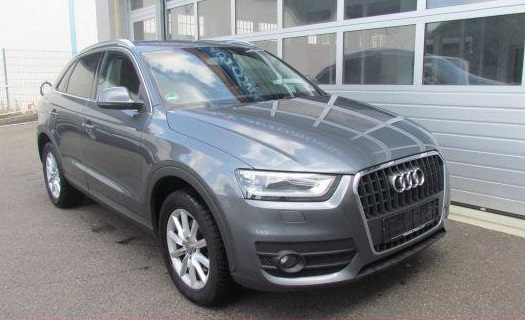 AUDI Q3 (03/2012) - GREY METALLIC - lieu: