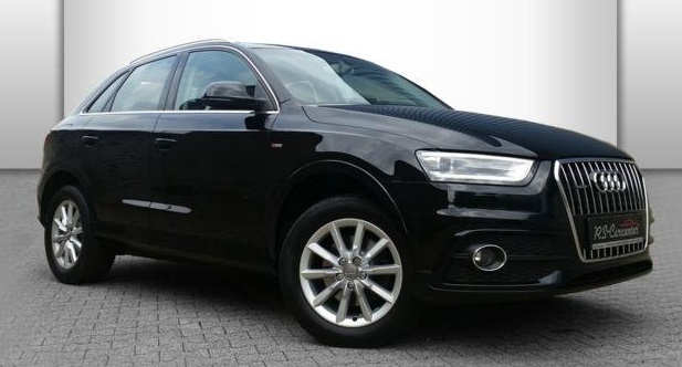 AUDI Q3 (03/2012) - BLACK METALLIC - lieu: