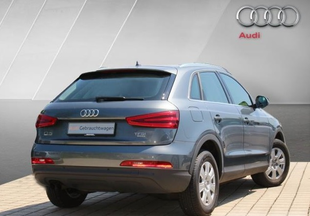 AUDI Q3 (04/2012) - GREY METALLIC - lieu: