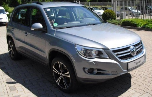 VOLKSWAGEN TIGUAN (06/2008) - MOUNTAIN GREY METALLIC - lieu: