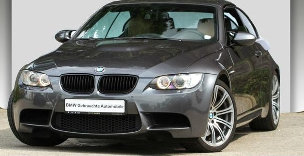 lhd BMW M3 (08/2008) - GRAPHITE GREY METALLIC - lieu:
