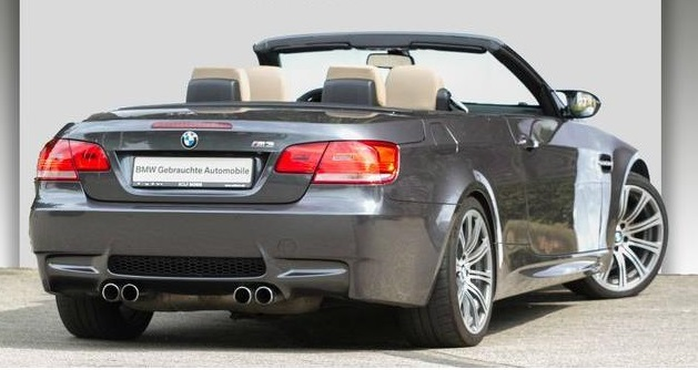 BMW M3 (08/2008) - GRAPHITE GREY METALLIC - lieu: