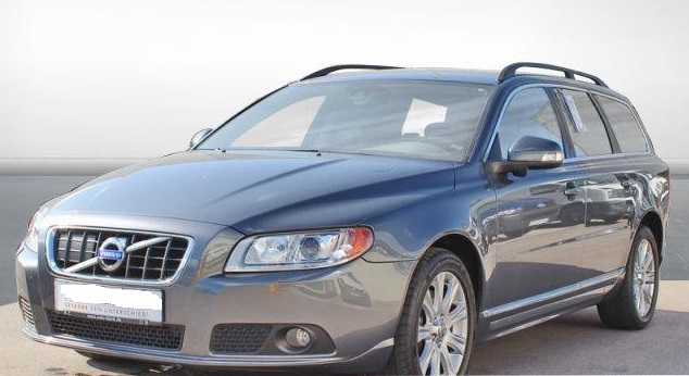 lhd VOLVO V70 (12/2009) - GREY METALLIC - lieu: