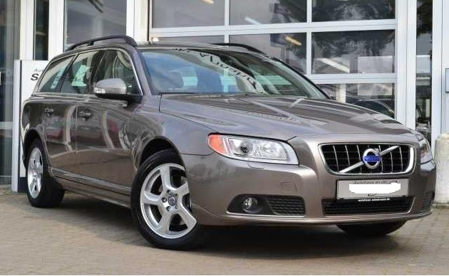 lhd VOLVO V70 (07/2010) - BEIGE BROWN METALLIC - lieu: