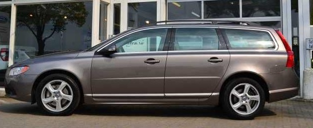 VOLVO V70 (07/2010) - BEIGE BROWN METALLIC - lieu: