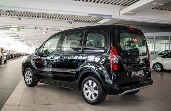 CITROEN BERLINGO (04/2015) - BLACK METALLIC - lieu: