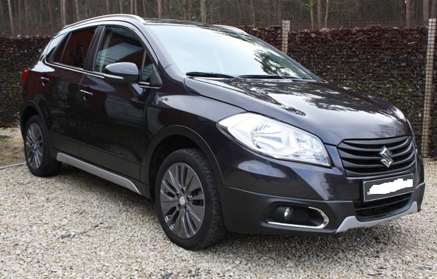 suzuki sx4 s cross 10 2013 black metallic lieu. Black Bedroom Furniture Sets. Home Design Ideas