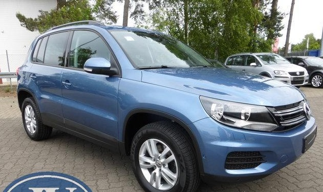 lhd VOLKSWAGEN TIGUAN (03/2012) - LIGHT BLUE METALLIC - lieu: